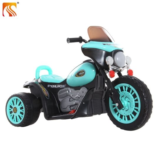 Plastic Three Wheel Kids Electric Motorcycle with Music