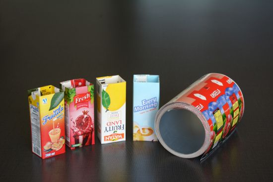 Aseptic Juice Packaging Carton 250ml Liquid Packing Material Printed