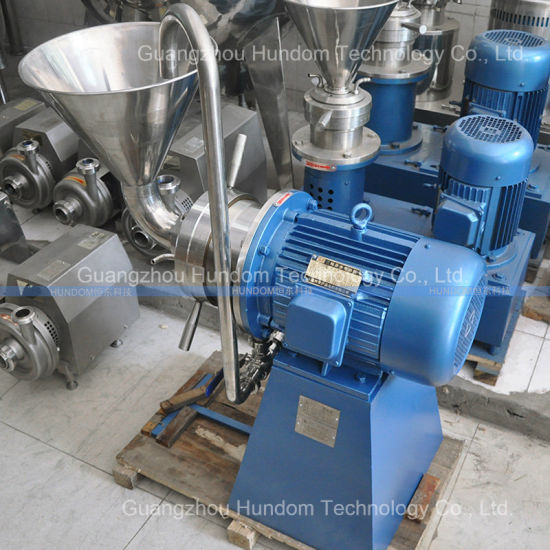 Fully Automatic Grease Colloid Mill, Emulsifying Machine, Colloid Grinder Machine pictures & photos