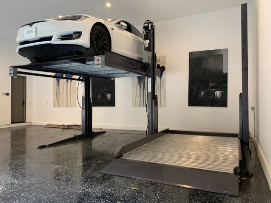 SUV Simple Double Deck Two Post Car Auto Parking Lift