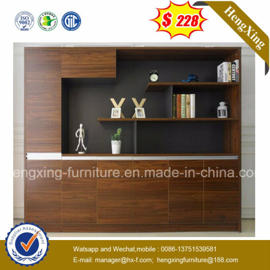 Living Room 4 Drawers Woven Baskets China Cabinet (HX-6M264) pictures & photos
