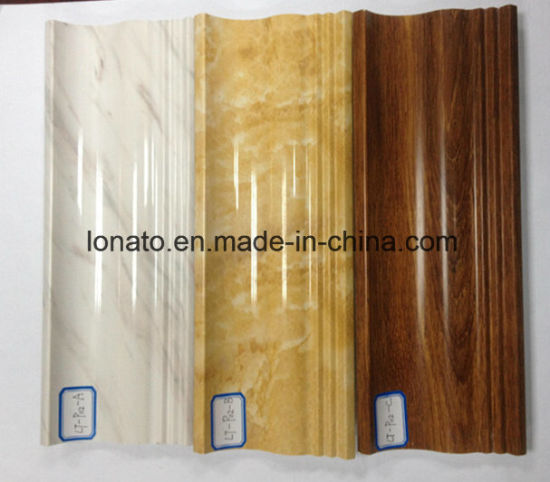 China Marble and Wood Color PVC Moulding Cornice for Wall Decoration ...