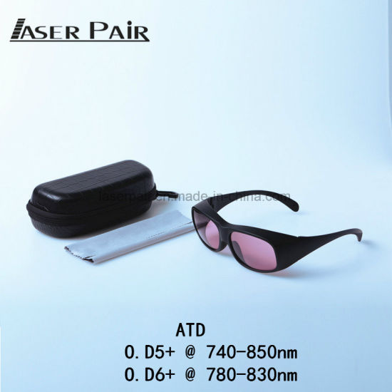 a3572624b7 China Manufacture Laser Safety Glasses Laser Goggles Ce En 207 for  Alexandrite Laser Hair Removal