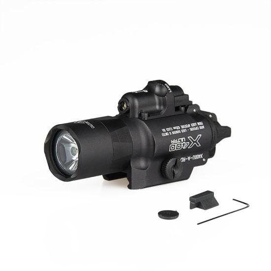 X400u Handgun Flashlight with Red Laser Sight
