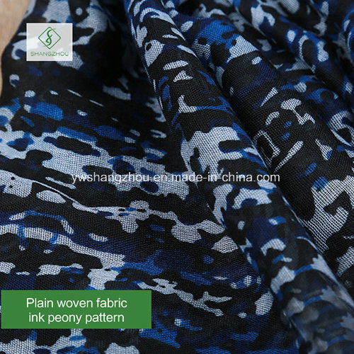 2018 Newest Fashion Lady Viscose Scarf with Flower Printed Shawl pictures & photos
