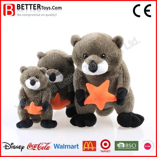 China Gift Soft Stuffed Animal Sea Otter Plush Toy For Kids China