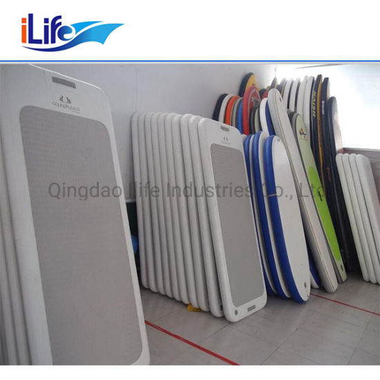 Ilife Wholesale Price Cheap Floating Water Mat Inflatable China Inflatable Yoga Mat pictures & photos