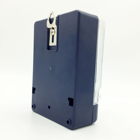 Dds-6L Single Phase Electrical Meter Blue Case pictures & photos