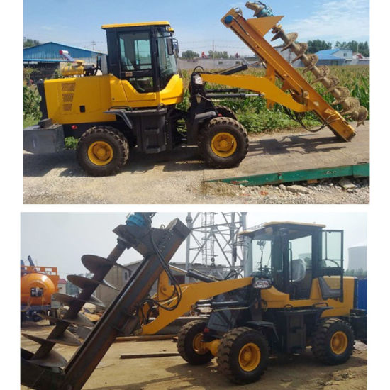 China Pile Driving Equipment Loader Type Foundation Pile Driver
