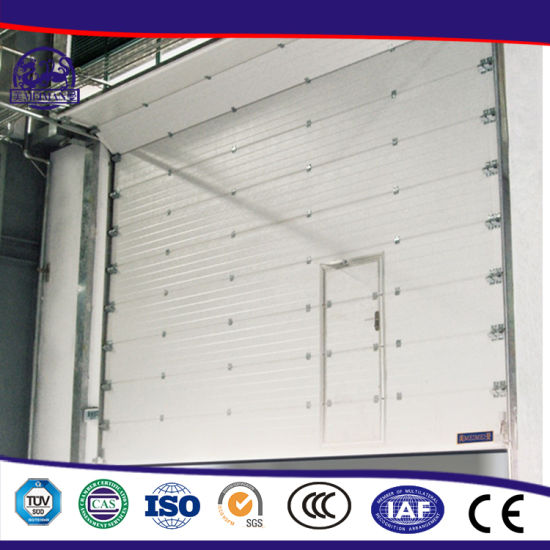 Exterior Outer Motorized Overhead Lifting Sectional Garage Door