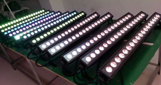 Stage Light Factory Waterproof RGBW Bar LED DMX Wall Washer Lighting pictures & photos