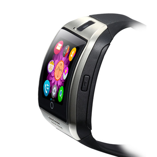 Hot Selling Hand Watch Mobile Phone Price Bluetooth Q18 Men Android Smart Watch pictures & photos