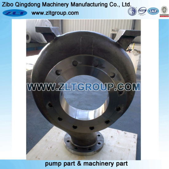 Sand Casting ANSI Chemical Process Centrifugal Water Pump Casing in Stainless Steel CD4/316/Titanium