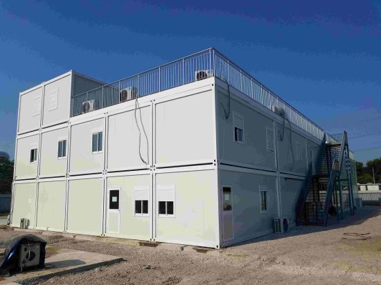 Low Cost Prefabricated Modular Container House for Counstrucrtion Site pictures & photos