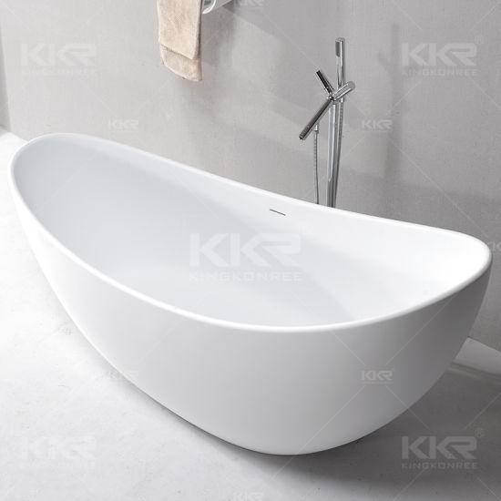 China Italian Design Sanitaryware Solid Surface Freestanding Bath ...