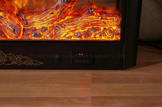 High Carbon Steel Electric Fireplace Heater with Ce Approved (A-804) pictures & photos