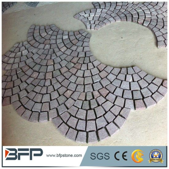 Natural Granite Decorative Paving Stone Cube Stones