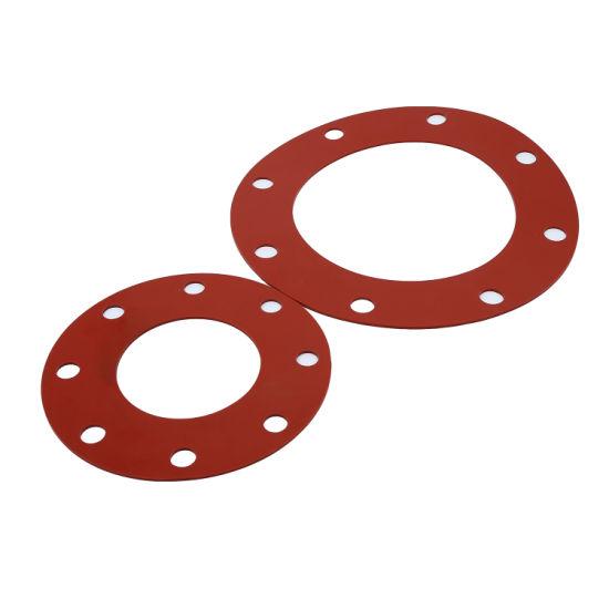 Customized Anti Vibration Waterproof Thin Flat Heat Resisting Silicone Gasket