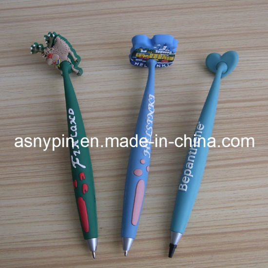 Soft PVC Promotional Magnet Pen pictures & photos