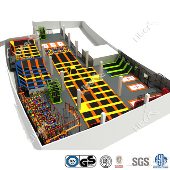 China Factory One-Stop Solution Build Indoor Trampoline Place pictures & photos