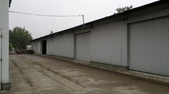 Steel Structure Warehouse with Canopy (SSW-526)