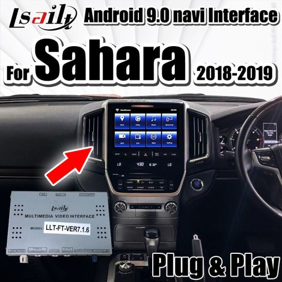 Carplay&Android Multimedia Video Interface for Land Cruiser LC200 Vxr, Sahara Support Multi-Languages, Youtube, Google Map...by Lsailt pictures & photos