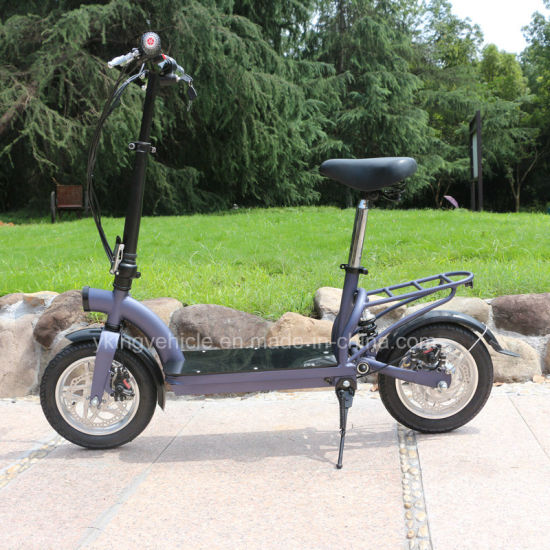 "36V300W Lithium Battery Scooter Mini 12"" Folded Electric Bike (ES-1202) pictures & photos"