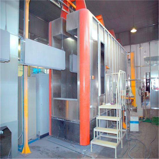 SS316 Stainless Steel Powder Coating Spray Production Line for Metal Furniture
