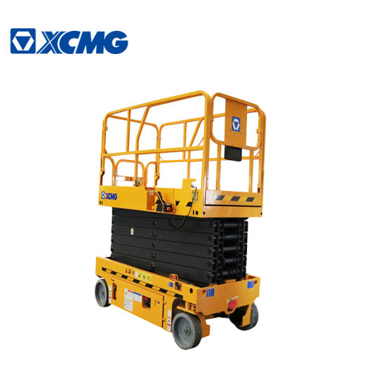 XCMG Factory Gtjz1412 Mobile Electric Hydraulic Self Propelled Scissor Lift Table Platform