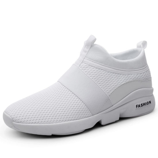 Popular Wonderful Design Wholesale Lightweight Breathable Men's Flat Sneakers with Cheap Price