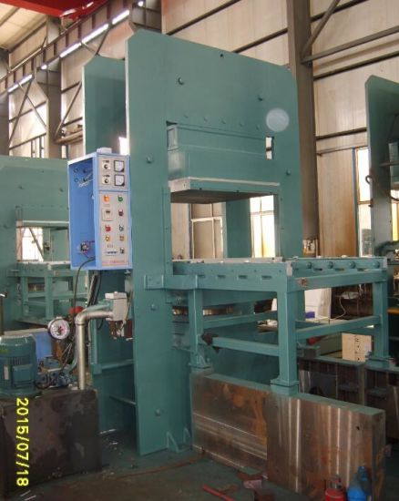 Top Technical Plate Rubber Vulcanizing Press Vulcanizer Machine pictures & photos