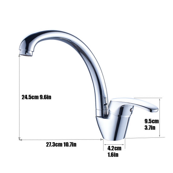 China Flg New Design Competitive Price Popular Kitchen Faucet