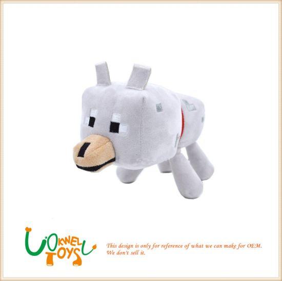 Custom Stuffed Animal Bulk China Wholesale Soft Animals Wolf Plush Baby Children Toys