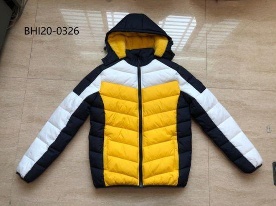 2020 New Style Fashionable Warm Winter Men Sport Padding Jacket Colorfur