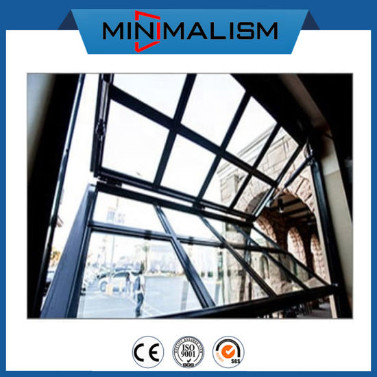 Soundproof Aluminum Folding Window for Ventilation