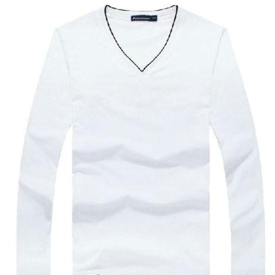 a26866ceb China Hot Mens Brand V Neck Sexy T Shirt Custom Design - China Hot ...