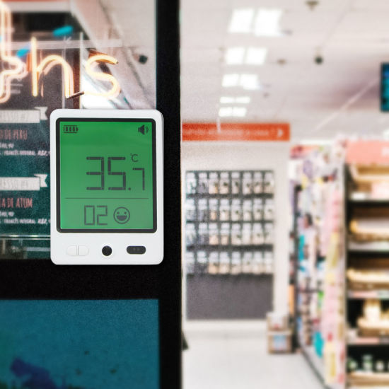Body Temperature Measurement Infrared Thermometer for Convenience Stores