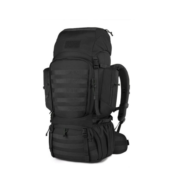 50L/60L/75L High Capacity Waterproof Molle Hiking Internal Frame Backpacks with Rain Cover for Camping Travel