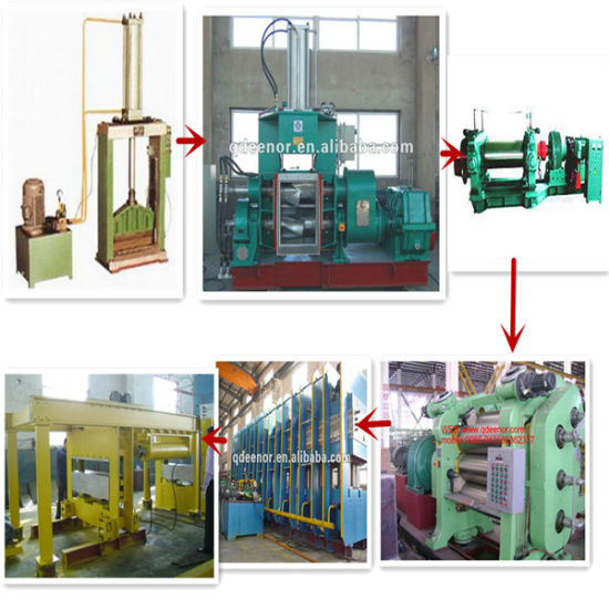 Good Quality Rubber Kneader Mill/EVA Foaming Mat Making Line pictures & photos