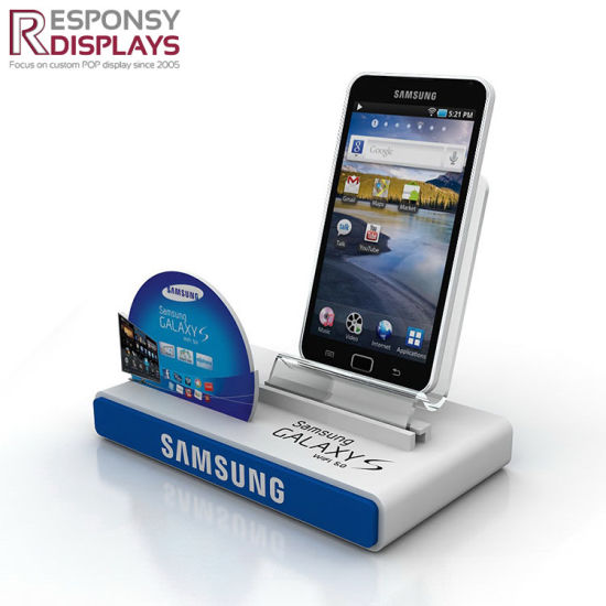 Acrylic Cellphone Mobile Phone Counter Top Display Stand pictures & photos