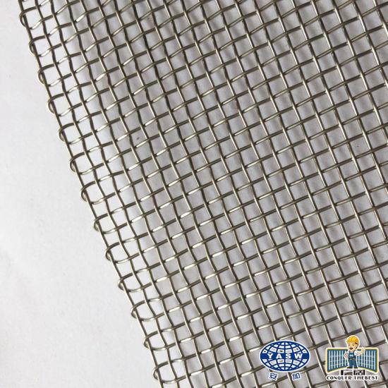 China Brand Hot Dipped Galvanized Square Wire Mesh Metal Mesh