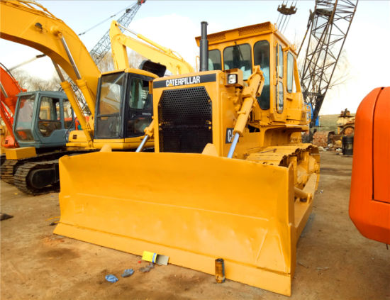 Used USA Brand Bulldozer Caterpillar D7g, Secondhand Cat Crawler Tractor D7g, D6d for Sale