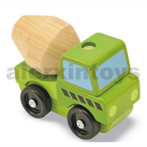 Wooden Stacking Vehicle Toys (80933) pictures & photos