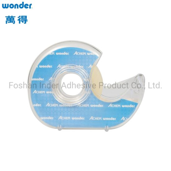 BOPP / OPP Acrylic Transparent Stationery/Sellotape Self Adhesive Tape for Office Jumbo Roll Printed