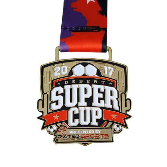 Custom 3D Logo Sports Soccer World Cup Award Medal
