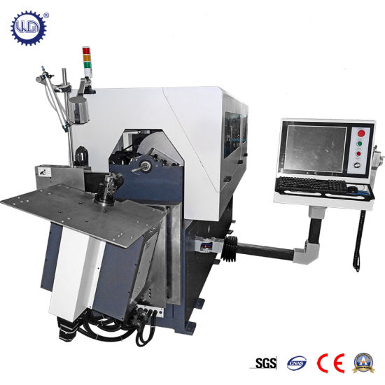 10 Axes Automatic CNC 3D Wire Bending Machine