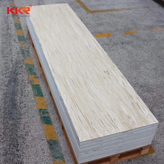 China Big Solid Surface Corian Veining Pattern Solid Surface