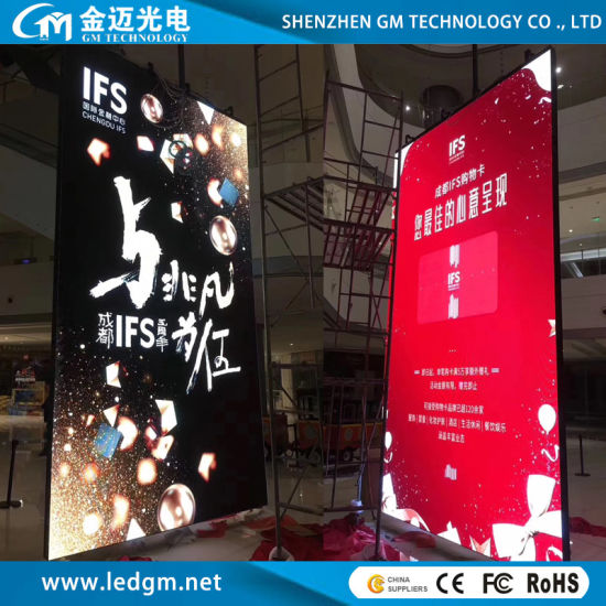 Indoor Full Color P6 Advertising LED Display Screen