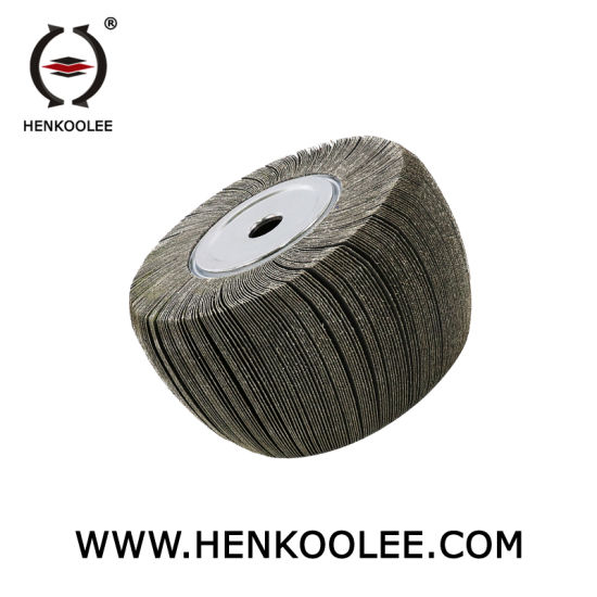 High Polishing Efficiency Calcine Aluminum Oxide Grinding Abrasive Cookware Polishing Flap Wheel