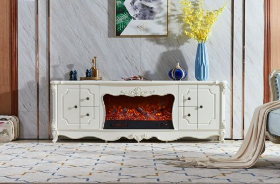 China Luxury Fireplace Mantels Tv Cabinet With Fireplace Mantel